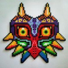 Majora's Mask perler beads by laura.jane.253