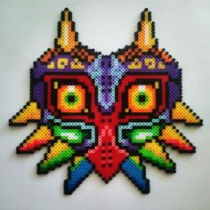 Majora's Mask perler beads by laura.jane.253