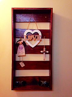 Wall shelf 3. Very basic but useful to decorate your home