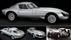 "Restored 1964 Low Drag Lightweight E-Type Jaguar (3)    Enzo Ferrari once said ""This is the most beautiful car ever produced"""