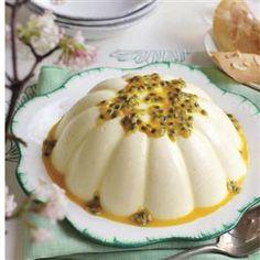 Passion fruit pannacotta Recipe | delicious. Magazine free recipes