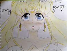 Princess Serenity, Sailor Moon, Princess Zelda, Fictional Characters, Art, Drawings, Art Background, Sailor Moons, Kunst
