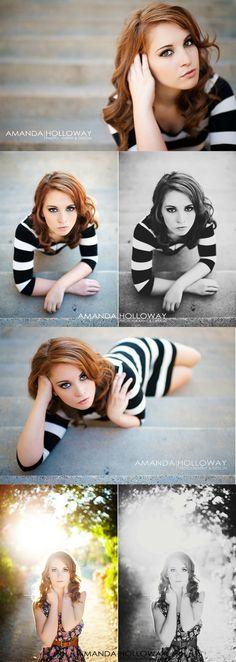 poseringar och snygg redigering