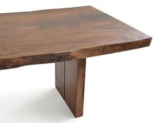 Dining room table example: Split-I-Slab leg approach