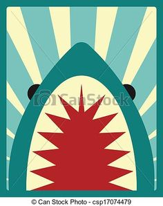 jaws graphic art - Google Search