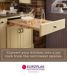 Check our how modular shelves saves a lot of space? For more details Visit : http://www.europlak.in/ #EuroplakIndia #ModularKitchen