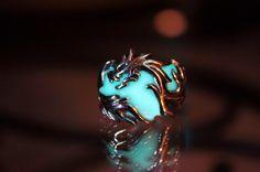 Glow-In-The-Dark Dragon Jewelry