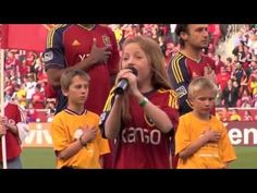 Watch this 12-year-old sing the National Anthem and knock it out of the park | Rare