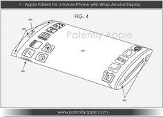 Flexible iPhone Display Patent