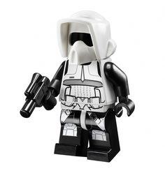 starwars lego scout trooper afigures - Google Search