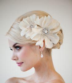 Coiffure de mariée. #weddinghaircut #weddinghairdo #brideshair #bridehaircut