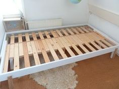 Basic Ikea bed to pull-out bed / Rykene bed to PS 2012 pull-out (sort-of) from Practical Delights