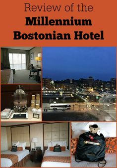 Review of the Millennium Bostonian Hotel