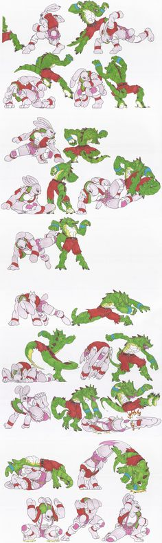 Bloody_Roar_doodles_34jan2015 by AlexBaxtheDarkSide on DeviantArt