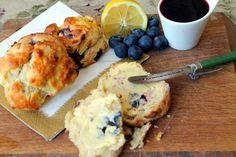 Zingy Lemon & Blueberry Scones - The perfect summer scone