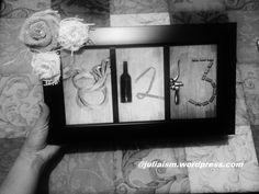 Easy DIY Bridal shower or wedding gifts. Cute blog with lots of ideas. DIY wedding date frame, http://juliaism.wordpress.com/2014/03/20/easy-diy-bridal-shower-gifts/