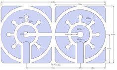 Keyhole garden design