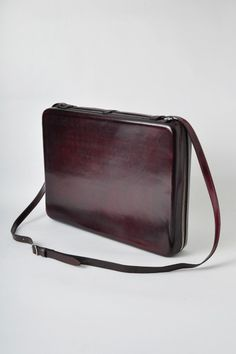 leather laptop case by Maison Martin Margiela