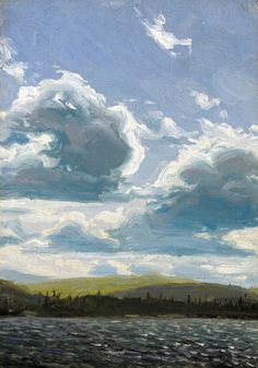 Northern Clouds - Tom Thomson