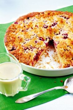 Something Sweet, Bread Baking, Sweet Recipes, Macaroni And Cheese, Tart, Berries, Deserts, Food And Drink, Pie