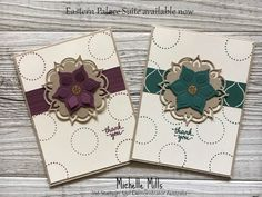 Michelle Mills Ind Stampin' Up! Demonstrator Australia. FB: Hello Day Cards Eastern Palace Suite