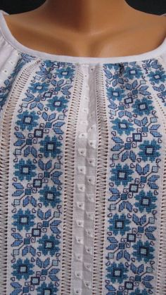Cross Stitch Borders, Cross Stitch Patterns, Palestinian Embroidery, Folk Embroidery, Gifts For Friends, Knitting, Crochet, Bridal Dresses, How To Wear