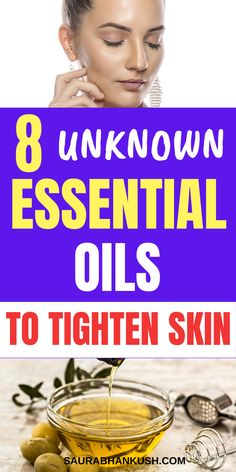 Need Tight skin? 8 Essential Oils to Tighten Skin. My 8 Essential Oils to tighten Face Skin are the best, and I use the Essential oils to Tighten loose skin too. Lose Thigh Fat Fast, How To Heal Burns, Lose Fat Workout, Face Tightening, Tighten Loose Skin, Tighter Skin, Essential Oils For Skin, Anti Aging Facial, Sagging Skin