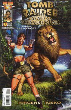 Tomb Raider / The Greatest Treasure of All cover / 2000 (Joe Jusko)