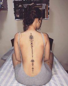Tatuajes Super Sexys En La Espalda Para Mujeres Tatus Tattoos
