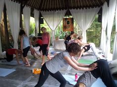 Beyond Yoga Bliss in Bali. It's the people that make a yoga retreat special.