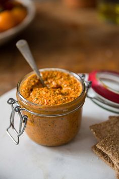 I absolutely adore roasted red pepper pesto but have never made it myself. Making pesto often seems like a chore, so I all too often reach for a store-bought alternative, which is always prett…