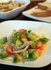 Gazpacho de Bacalao (Salted Codfish Gazpacho) - Tienditadepuertorico.com - Buy Puertorican Food Here!!