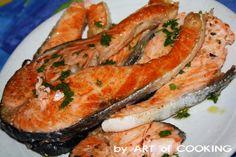 Salmone grigliato