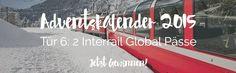 Gewinne zwei @interrail Global Pässe!