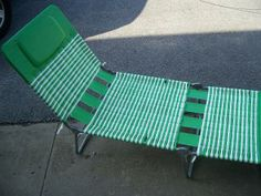 Plastic Folding Lounge Chair   Pink Chaise Lounge Retro Velvet Velour Fainting Couch 1980s Long Chair I love these!