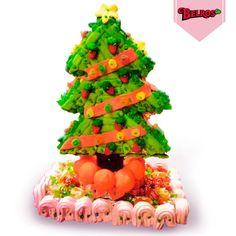 Tartas navideñas de chuches