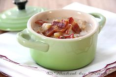 Slow Cooker Lobster Chowder (from @Rachel  {Baked by Rachel})