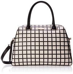 kate spade new york Charles Street Fabric Mini Brantley Cross Body, Pebble/Black, One Size: Handbags: AmazonSmile