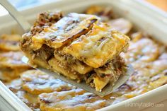 Turkey Pastelón (Sweet Plantain Lasagna) - It's that sweet salty thing that makes this taste SOOOO good! #glutenfree #cleaneats #weightwatchers