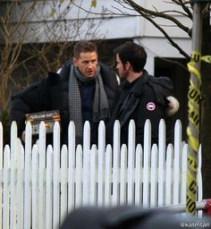 "Colin O'Donoghue and Josh Dallas - 6 * 13 ""Ill-boding Patterns"" - Behind the scenes - 15 November 2016"