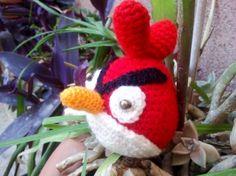 Amigu angry rojo, para mi sobrina Paola