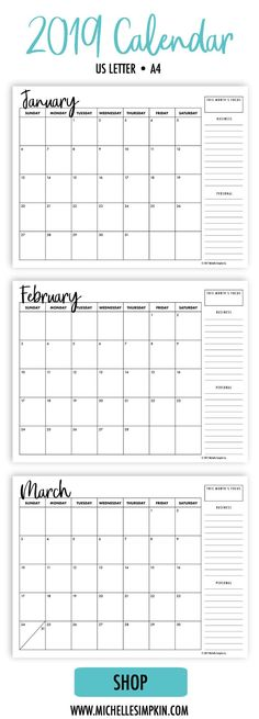 58 best Calendars images in 2019 | Calendar Design, Calendar