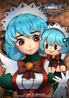 Fanart Angela Mobile Legends by HimitsuMitsu on DeviantArt All Anime, Anime Art, Mobile Legend Wallpaper, Hanabi, Mobile Legends, Profile Photo, Kawaii Anime, All Art, Hero