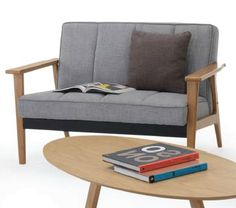 Sillon Connor 2 cuerpos sesane natural