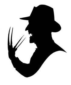 Freddy Krueger Nightmare on Elm Street Horror Vinyl Car Decal Bumper Window Sticker Any Color Multiple Sizes - Emoji & Sticker - Tattoo Scary Movies, Horror Movies, Stencil Art, Stencils, Gravure Laser, Halloween Silhouettes, Pumpkin Stencil, Oldschool, Nightmare On Elm Street