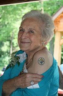 90-Year-Old Pittsburgh Woman Rocking New Steelers Tat