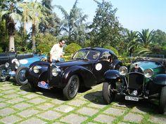 Bugatti road show visiting #villalalimonaia