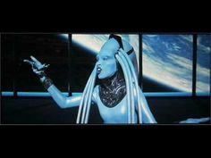 """The Fifth Element. The music is from Gaetano Donizetti's Lucia di Lammermoor. """"Il dolce suono"""" is from the mad scene of Act III, Scene I and it was voiced by the Albanian soprano Inva Mula-Tchako, while the role of Plavalaguna (the Diva) was played by the French actress Maïwenn Le Besco."""