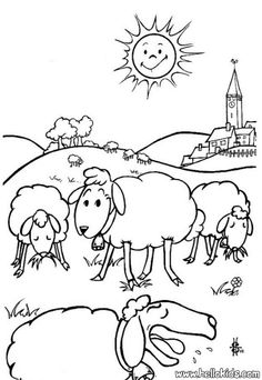 This Sheep Coloring Page Is Available For Free In Farm Animals Pages You Can