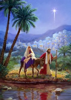 Leading Illustration & Publishing Agency based in London, New York & Marbella. Christmas Jesus, Christmas Nativity Scene, Christmas Scenes, Christmas Pictures, O Holy Night, Biblical Art, Jesus Pictures, Holy Family, Christmas Paintings